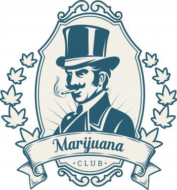 Marijuana Club Logo